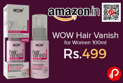WOW Hair Vanish for Women 100ml