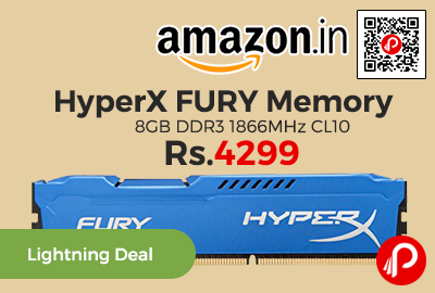 HyperX FURY Memory 8GB DDR3 1866MHz CL10