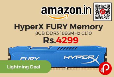 HyperX FURY Memory 8GB DDR3 1866MHz CL10