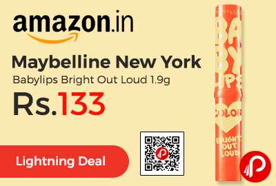 Maybelline New York Babylips Bright Out Loud 1.9g