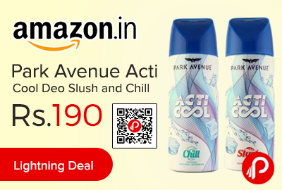 Park Avenue Acti Cool Deo Slush and Chill