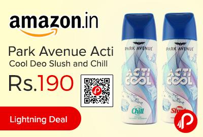 Park Avenue Acti Cool Deo Slush and Chill