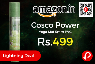Cosco Power Yoga Mat 5mm PVC
