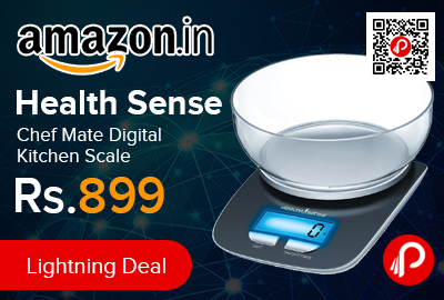 Health Sense Chef Mate Digital Kitchen Scale