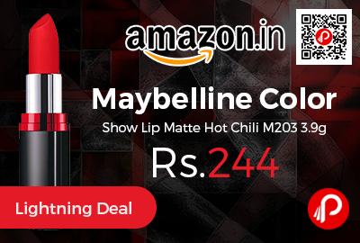 Maybelline Color Show Lip Matte Hot Chili M203 3.9g
