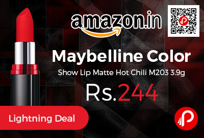 Maybelline Color Show Lip Matte Hot Chili M203 3.9g