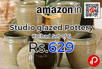 Pottery Kulhad Set of 6 by Studio
