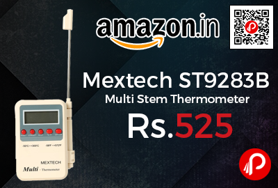 Mextech ST9283B Multi Stem Thermometer