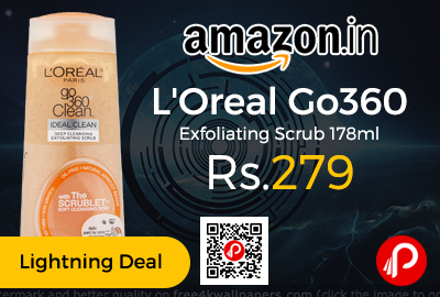 L'Oreal Go360 Exfoliating Scrub 178ml