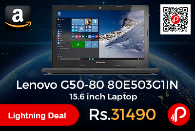Lenovo G50-80 80E503G1IN 15.6 inch Laptop