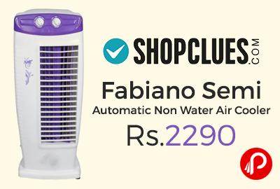 Fabiano Semi Automatic Non Water Air Cooler