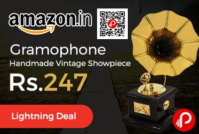 Gramophone Handmade Vintage Showpiece