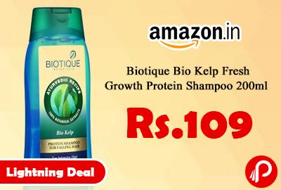 Biotique Bio Kelp Fresh Growth Protein Shampoo 200ml