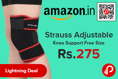 Strauss Adjustable Knee Support Free Size