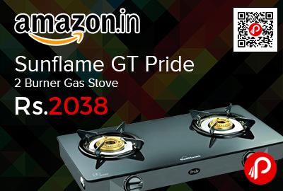 Sunflame GT Pride 2 Burner Gas Stove