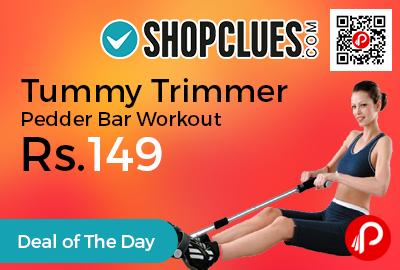 Tummy Trimmer Pedder Bar Workout