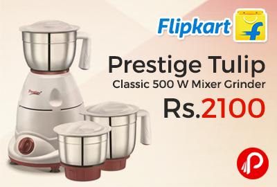 Prestige Tulip Classic 500 W Mixer Grinder