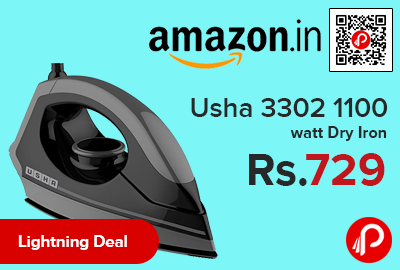 Usha 3302 1100 watt Dry Iron