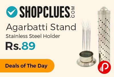 Agarbatti Stand Stainless Steel Holder