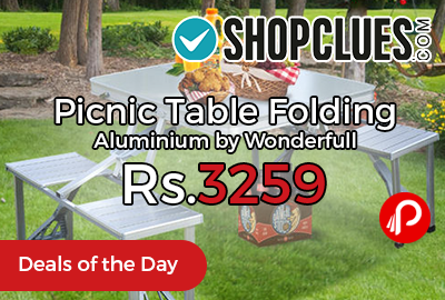Picnic Table Folding Aluminium