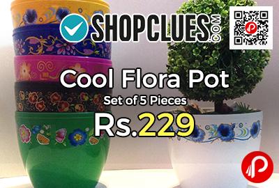 Cool Flora Pot Set of 5 Pieces