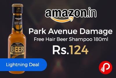 Park Avenue Damage Free Hair Beer Shampoo 180ml