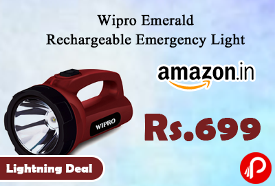 Wipro Emerald Rechargeable Emergency Light