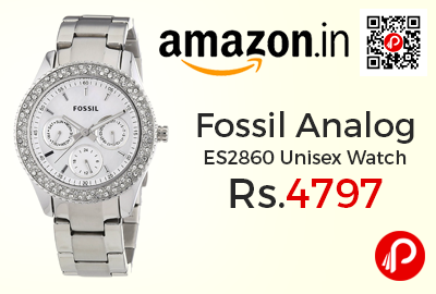 Fossil Analog ES2860 Unisex Watch