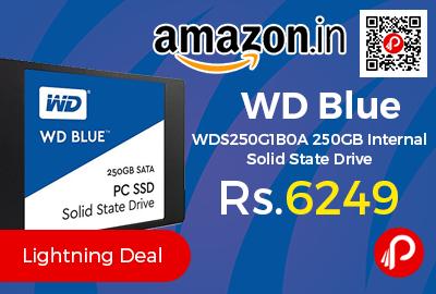 WD Blue WDS250G1B0A 250GB Internal Solid State Drive