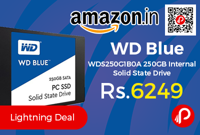 WD Blue WDS250G1B0A 250GB Internal Solid State Drive
