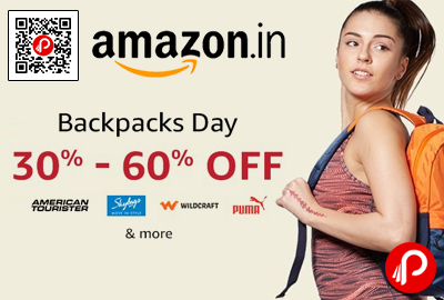 Branded Backpack 30% - 60% off - Amazon