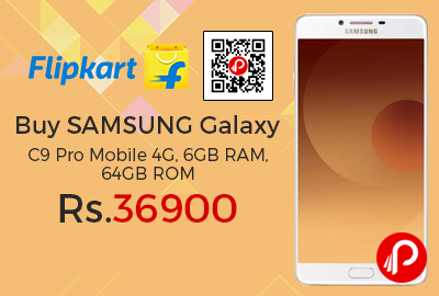 Buy SAMSUNG Galaxy C9 Pro Mobile