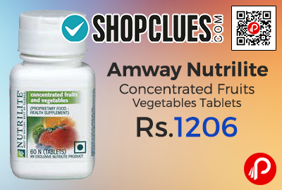 Amway Nutrilite Concentrated Fruits Vegetables Tablets