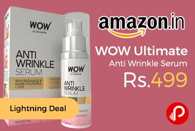 WOW Ultimate Anti Wrinkle Serum