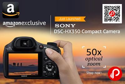 Sony Cybershot DSC HX350 20.4MP Point and Shoot Digital Camera