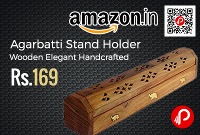 Agarbatti Stand Holder Wooden Elegant Handcrafted
