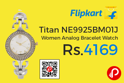 Titan NE9925BM01J Women Analog Bracelet Watch