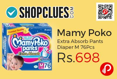 Mamy Poko Extra Absorb Pants Diaper M 76Pcs
