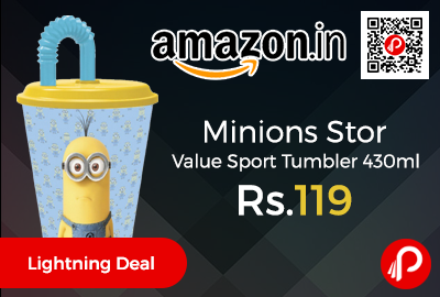 Minions Stor Value Sport Tumbler 430ml