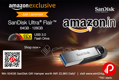 SanDisk Ultra Flair USB 3.0 64GB Flash Drive High Performance