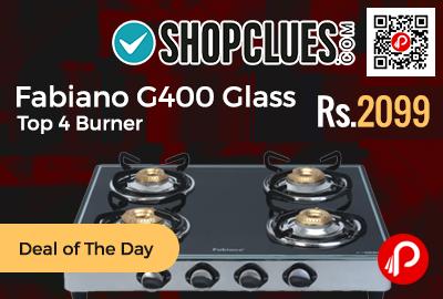 Fabiano G400 Glass Top 4 Burner