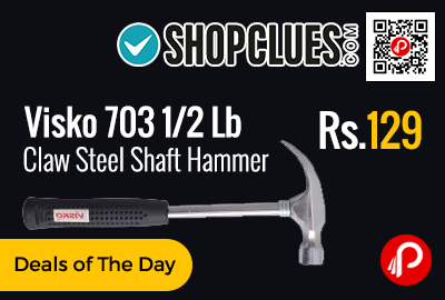 Visko 703 1/2 Lb Claw Steel Shaft Hammer