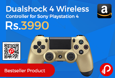 Dualshock 4 Wireless Controller for Sony Playstation 4 at Rs.3990 Only - Amazon