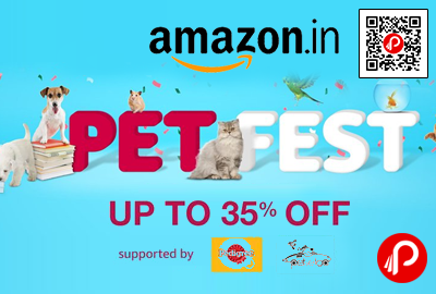 Pet Fest Pet Products Upto 35% off - Amazon