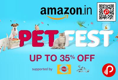 Pet Fest Pet Products Upto 35% off - Amazon