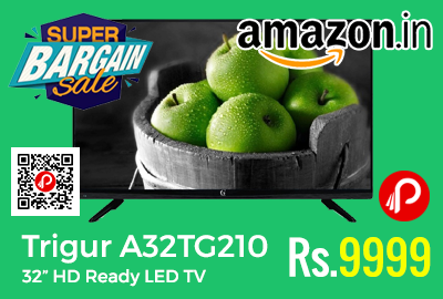 "Trigur A32TG210 32"" HD Ready LED TV at Rs.9999 Only - Shopclues"