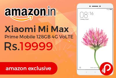 Xiaomi Mi Max Prime Mobile