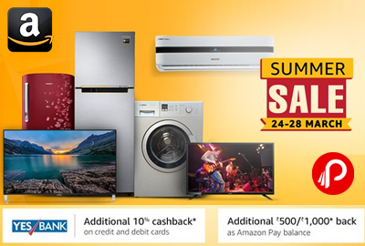 Summer Sale 24th - 28th March