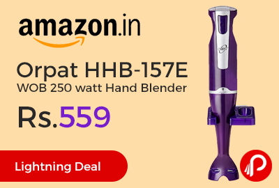 Orpat HHB-157E WOB 250 watt Hand Blender
