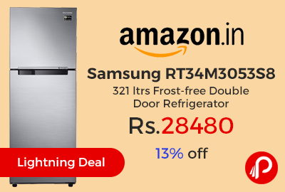 Samsung RT34M3053S8 321 ltrs Frost-free Double Door Refrigerator